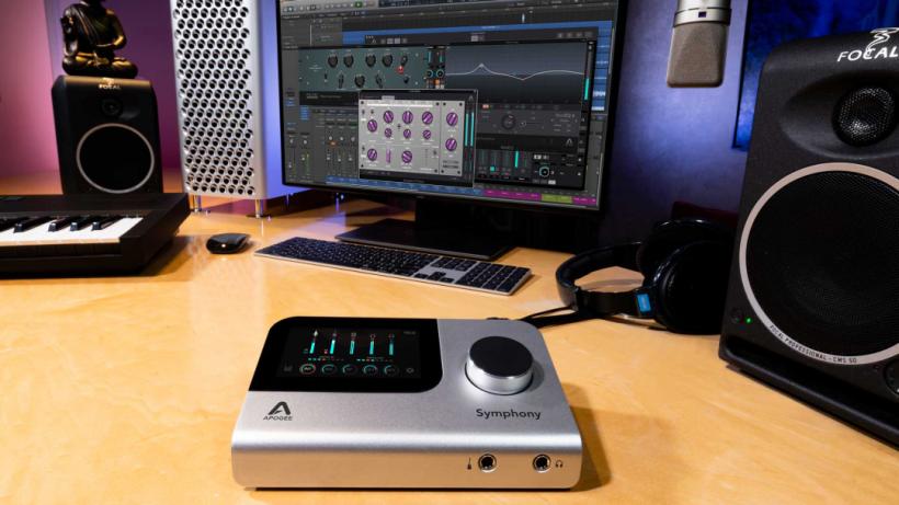 Apogee Symphony Desktop 国内首测:基于触控操作系统并内置 DSP 硬件效果处理器的高端桌面个人音频接口