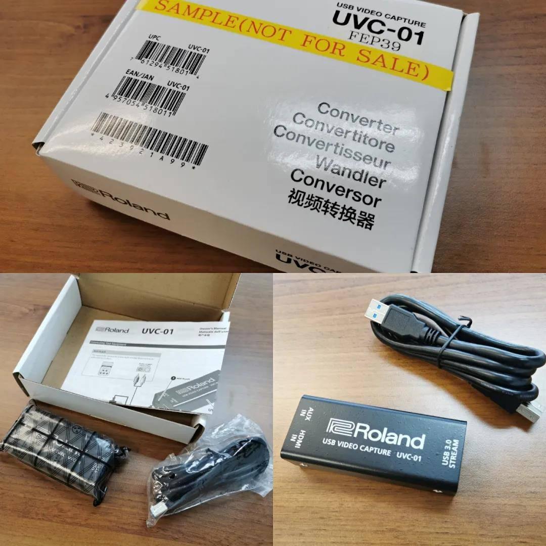 Roland UVC-01使用测评