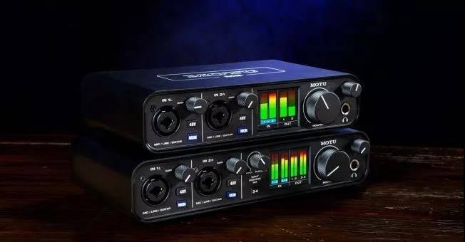 个人桌面级声卡的革命——MOTU全新发布M2 / M4个人音频接口产品