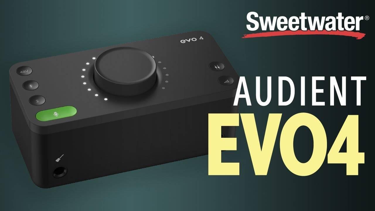 Audient EVO 4 视频评测