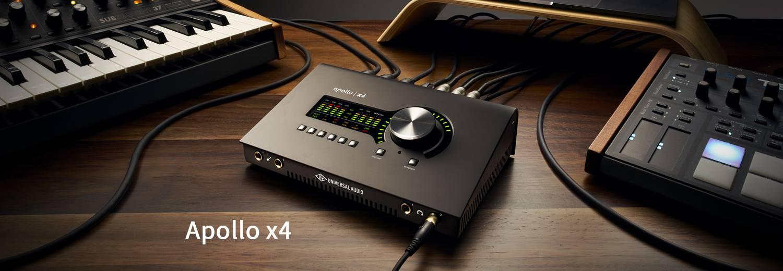 Universal Audio重磅推出Apollo Twin X和Apollo X4两款雷电3音频接口