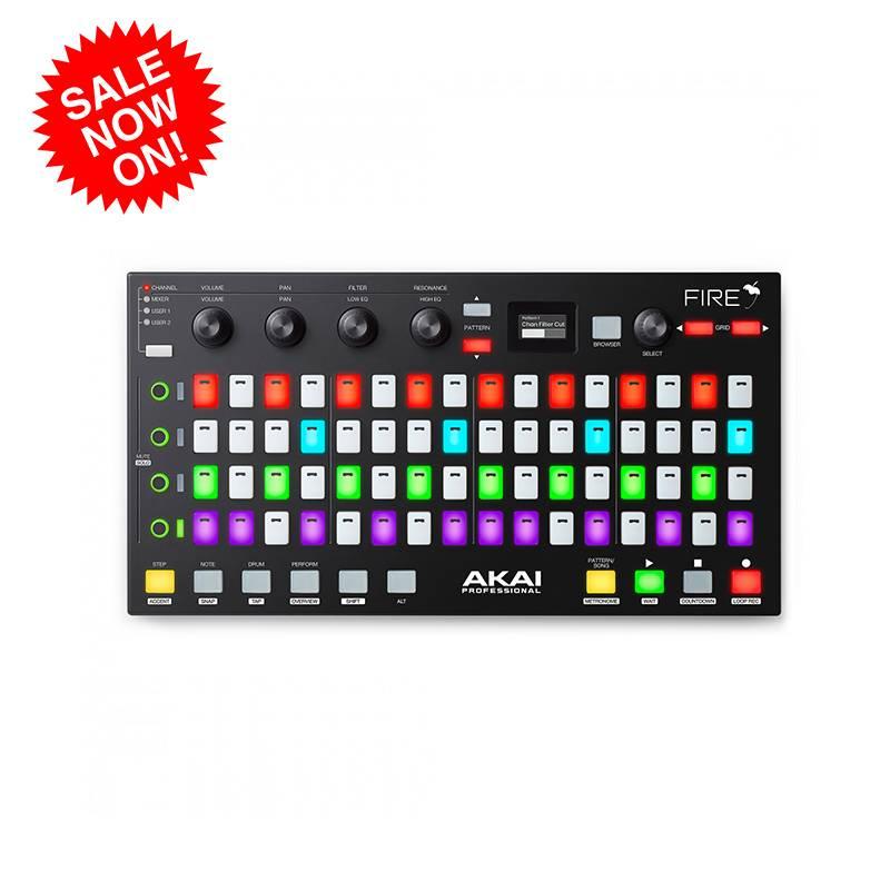 特价 AkAI Fire FL Studio专属MIDI控制器MIDI键盘