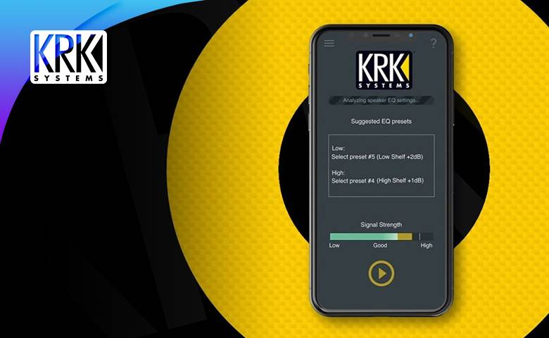 KRK Audio Tools APP使用教学