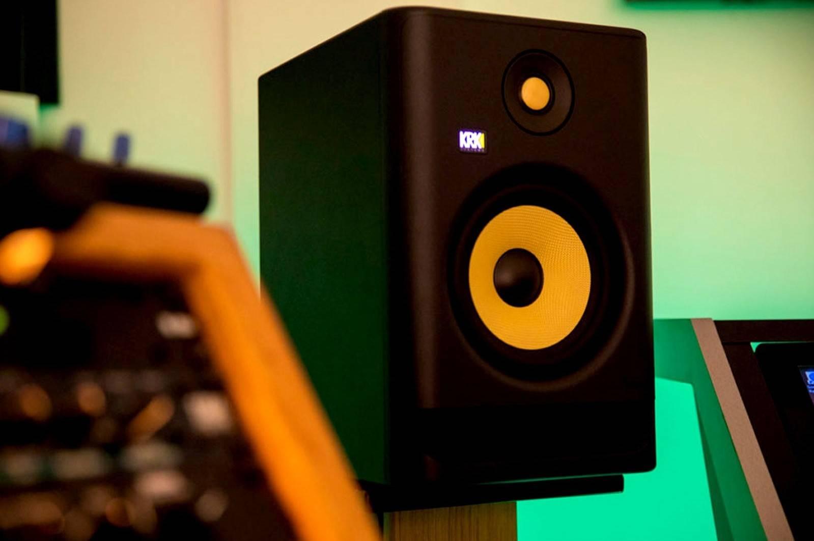 KRK G4:经典的黄色音频单元提供更优质的声音,同时带来更佳的清晰度和深度